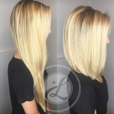 long blonde hair color and highlights