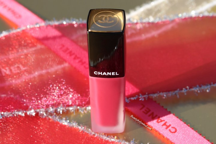 Chanel Rouge Allure Ink 160 - Rose prodigious Swatch