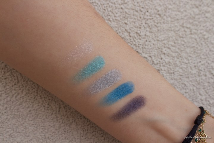 5 Couleurs Cool Wave Palette Swatch