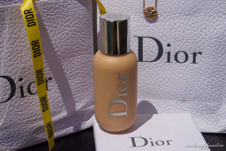 Dior Backstage foundation review