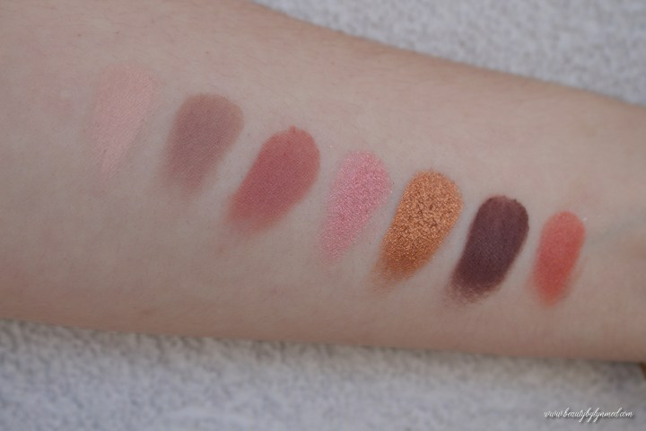 Eye-conic Fantascene Palette swatches