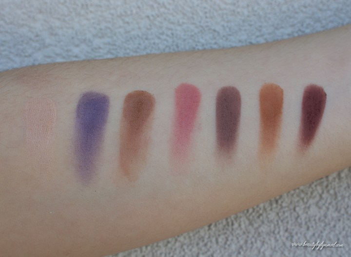 Norvina Palette Swatches
