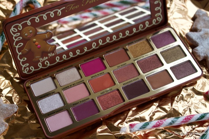 Too Faced Gingerbread Spice Palette