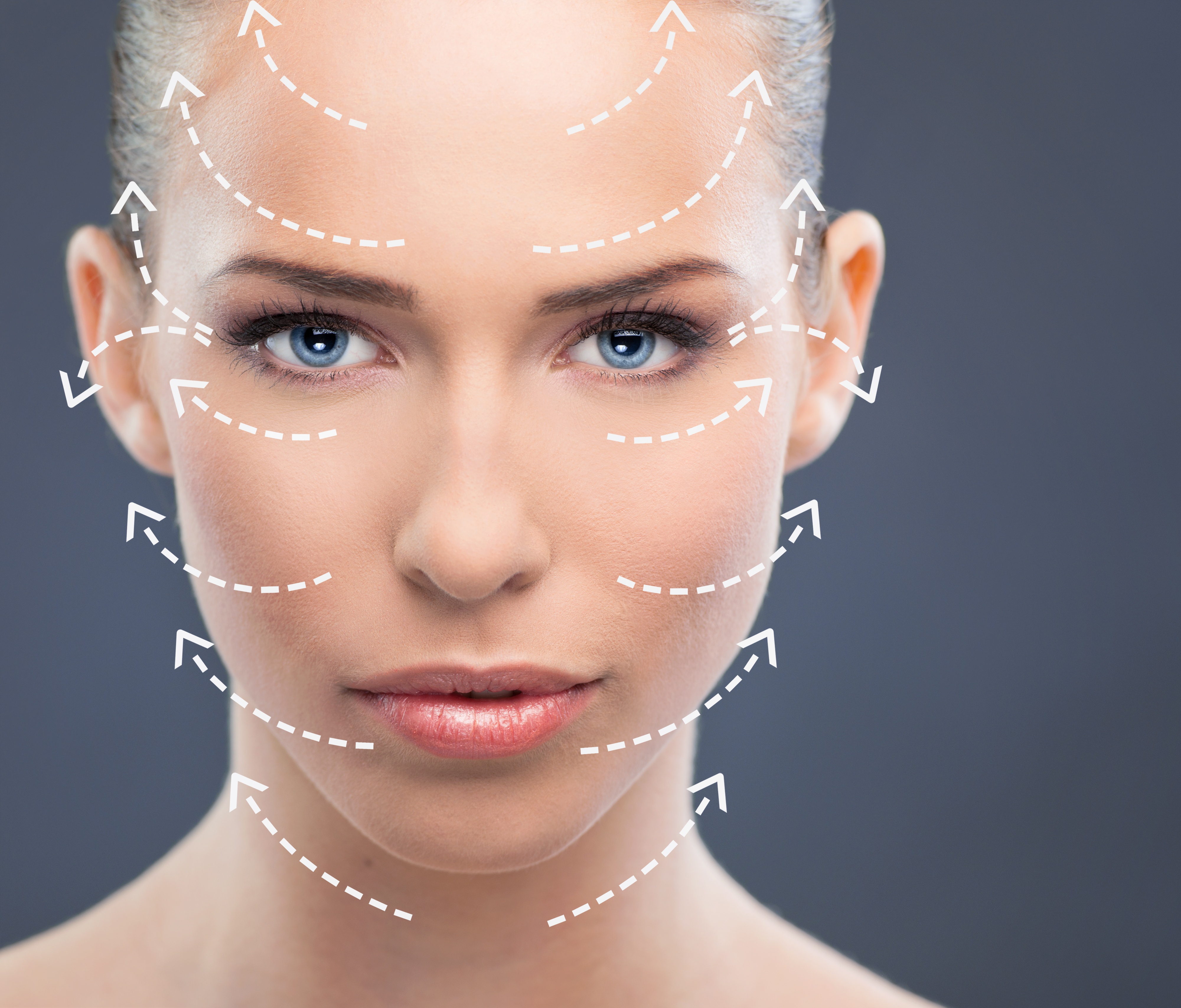 Face with arrows shutterstock_135243698