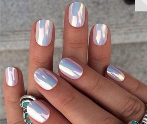 nails chrome nail polish