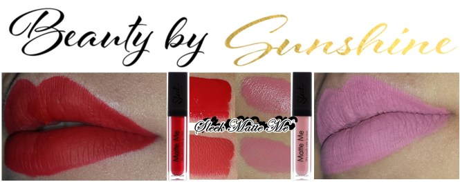 Sleek-Matte-Me-Swatch-Petal-Rioja-Red-beautybysunshine-red-lips-Nude-lips-makeup