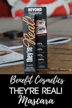 Benefit Cosmetics They're Real! Mascara Pin - Beauty Chaos