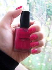 avon speed dry nail enamel in strawberry
