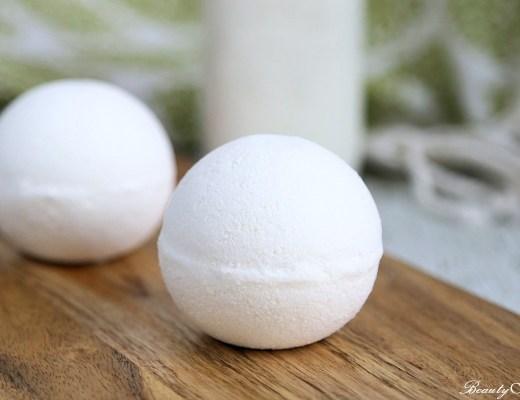 Milk bath Bombs Recipe DIY