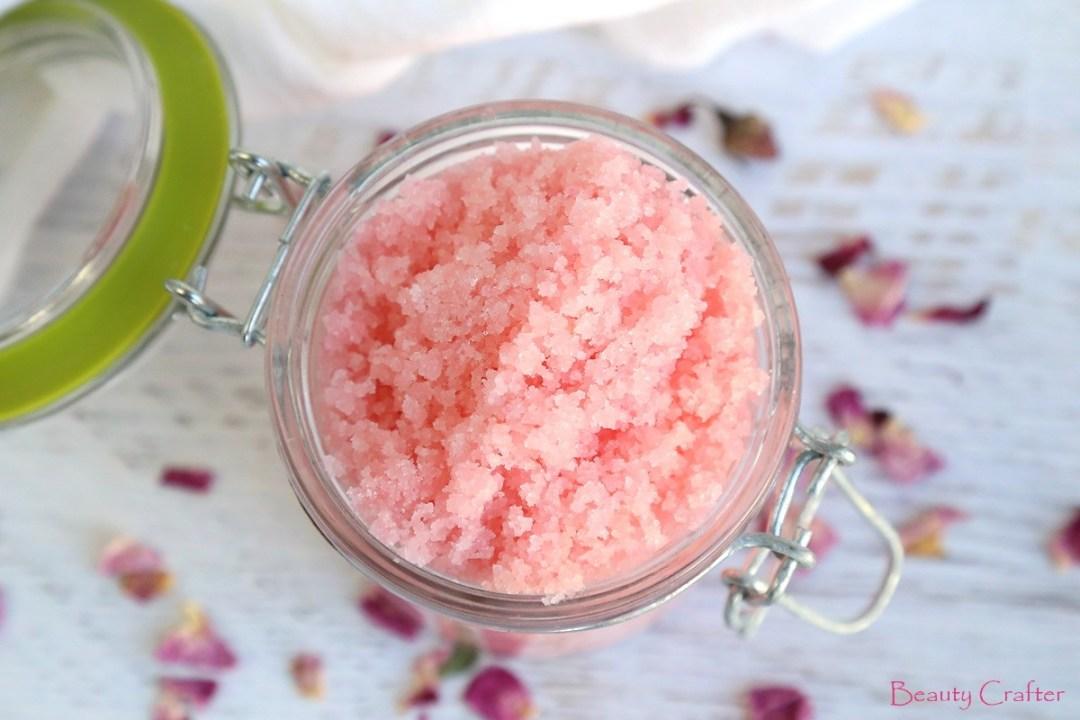 rose sugar scrub recipe