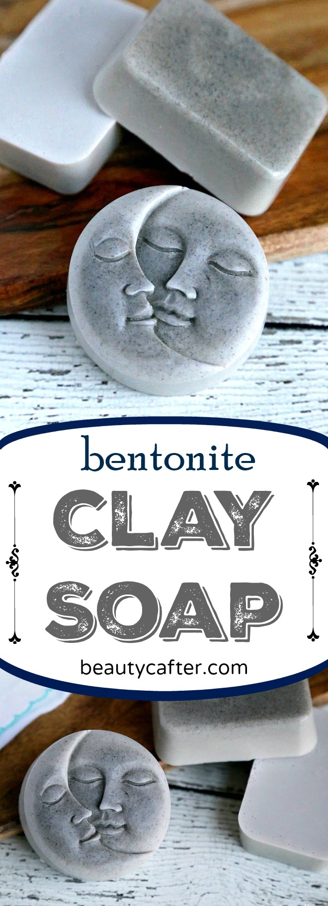 This Bentonite Clay Soap is great for the skin and has detoxification benefits as well. Thesimple melt and pour clay soap recipe isquite easy to make, even for someone who has never made soap before. #soap #clay #soapmaking #crafts #detox