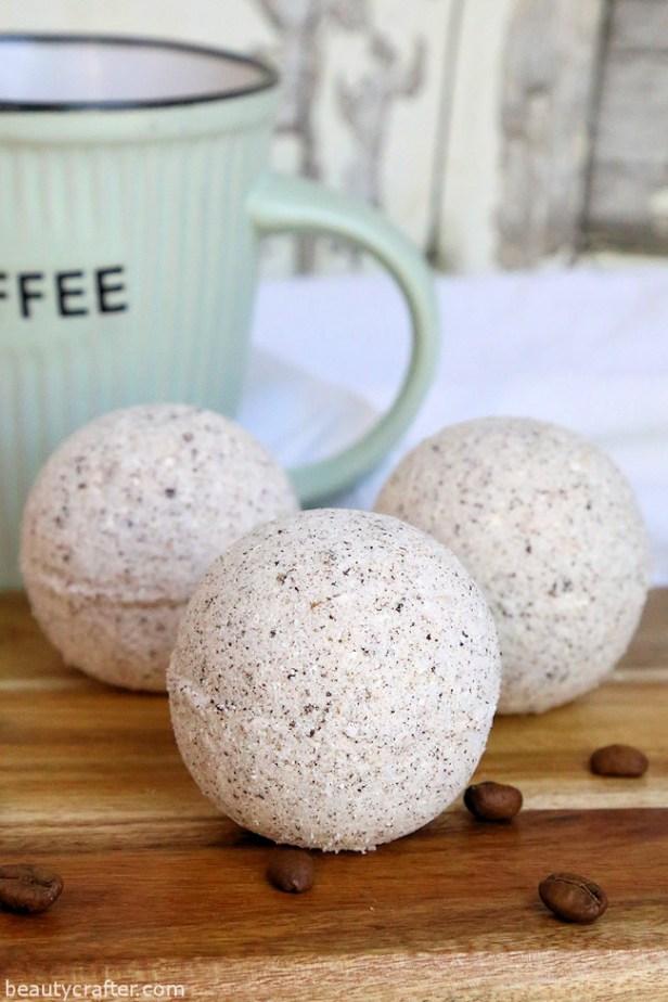 coffee bath bomb diy