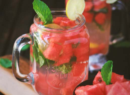 Watermelon and Mint Detox Water