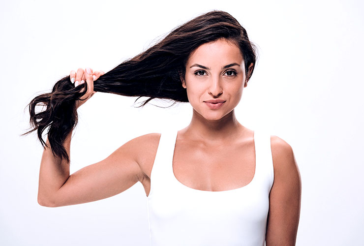 Olive Oil PROMOTES HAIR GROWTH