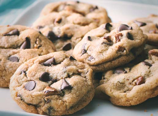 Easy Microwave Recipe Chocolate Chip Cookie