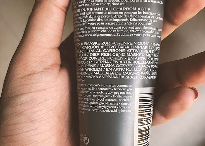 Origins Clear Improvement Active Charcoal Mask Ingredients
