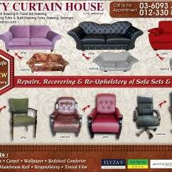 Repair Sofa Cushion Shah Alam Modern Beds Clic Clacs Upholstery Malaysia Taraba Home Review