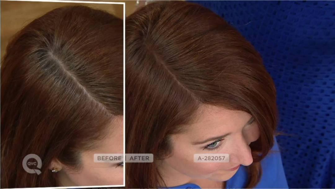Madison Reed Root Touch Up как применять пудру для волос до и после)