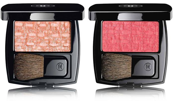 Chanel - Summer 2017 L'Harmonies des Opposes Collection 80 Tweed Rose Peche 90 Tweed Pink Paradise