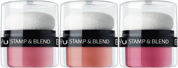 Рассыпчатые румяна - BeYu Stamp & Blend Blush