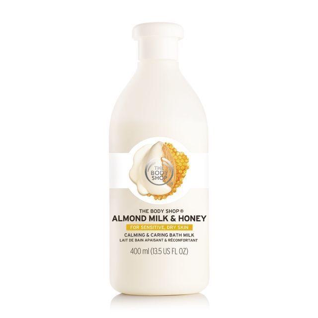 The Body Shop - Almond Milk & Honey СМЯГЧАЮЩАЯ ПЕНА ДЛЯ ВАННЫ