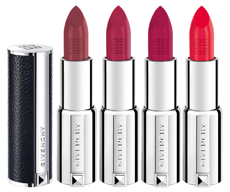 Кремовая помада - Givenchy Le Rouge N°109 Brun Casual, N°214 Rose Broderie, N°323 Framboise Couture, N°324 Corail Backstage