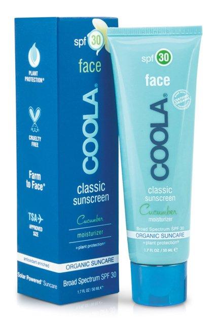 COOLA SUNCARE - Солнцезащитный увлажняющий крем для лица «Огурец» (SPF30)