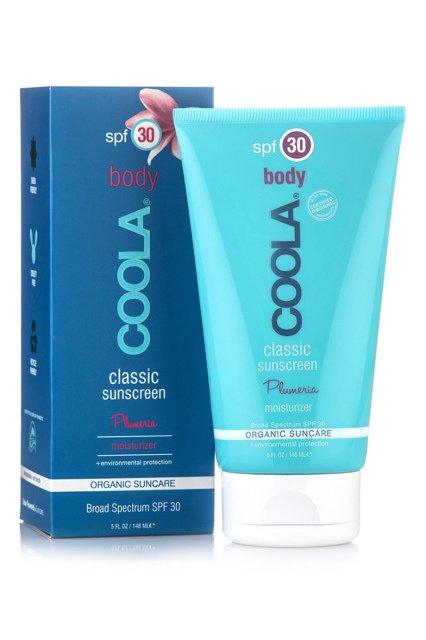 COOLA SUNCARE - Солнцезащитный увлажняющий крем для тела «Плюмерия» (SPF30)