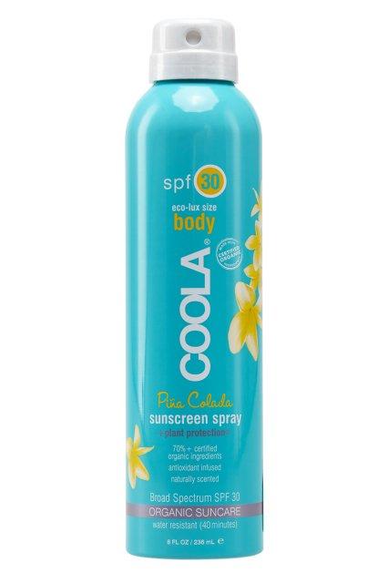 COOLA SUNCARE Солнцезащитный спрей для лица и тела