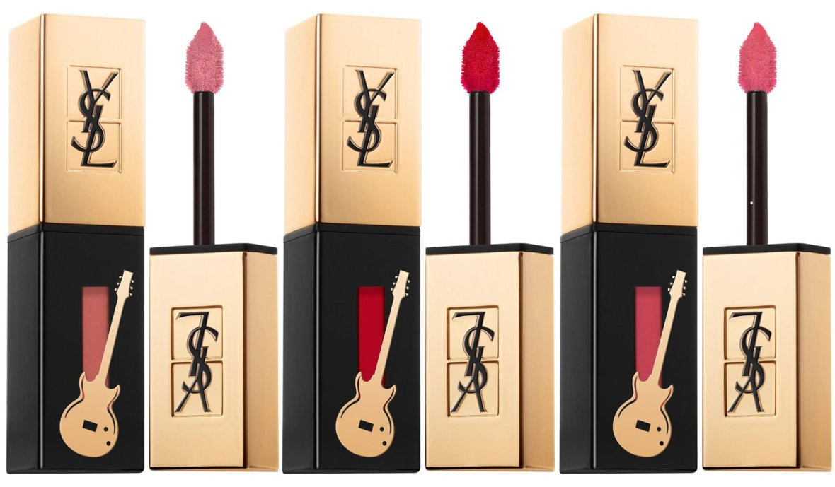 YSL Glossy Stain Guitar Edition Lip Color
