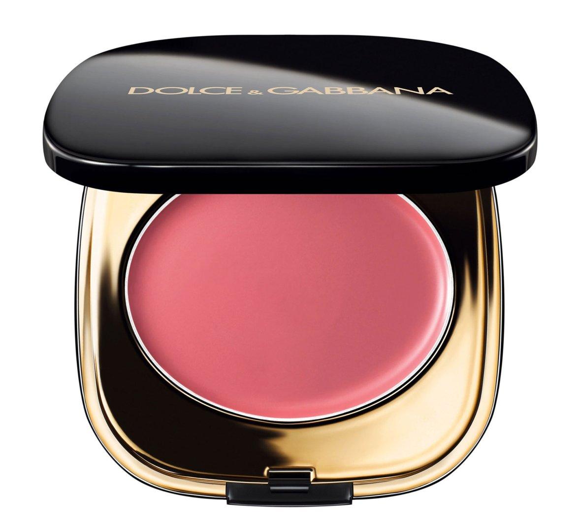 Кремовые румяна - Dolce & Gabbana Creamy Blush Оттенок #30 Rose Carina