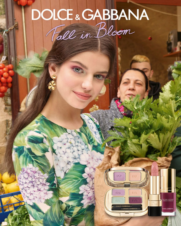 новая коллекция косметики Dolce&Gabbana - Fall In Bloom осень зима 2017