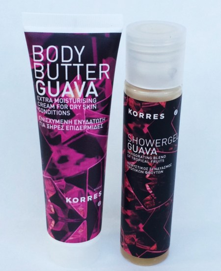 Guava Body Butter & Shower Gel by Korres
