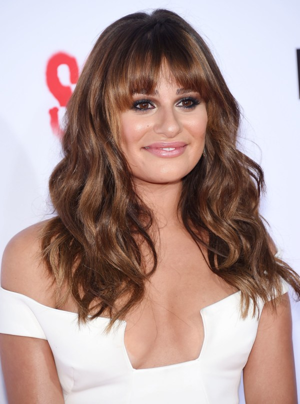 Lea Michele' Hair Looked And '