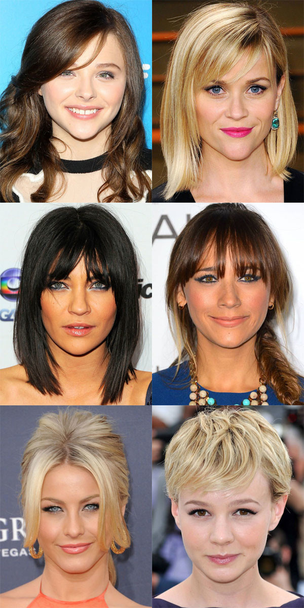 The Best And Worst Bangs For Inverted Triangle Faces Beautyeditor