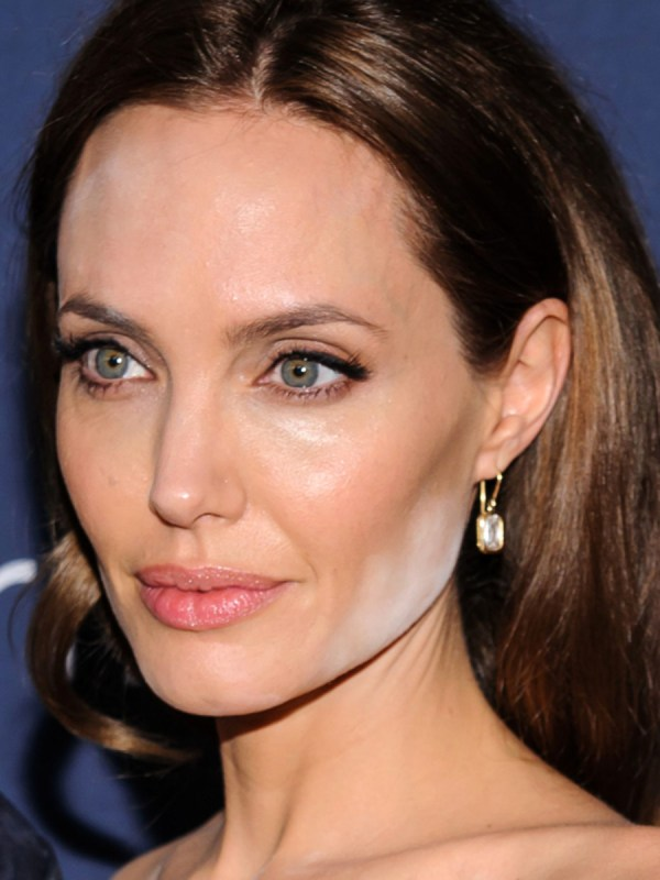 Angelina Jolie Latest Celeb White Powder