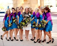 Four Fun Color Ideas for Your Weddings Bridesmaid Dresses ...