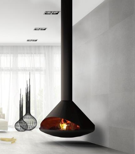 Natural Gas Fireplace. Interior Attractive Home Interior