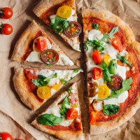 PIZZA di FARRO a LUNGA LIEVITAZIONE | PIZZA VEGAN MarVEGrita