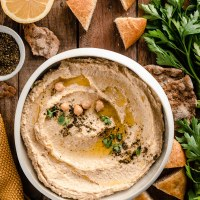Hummus di ceci ricetta originale | the best original hummus recipe