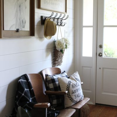 Farmhouse Foyer Reveal