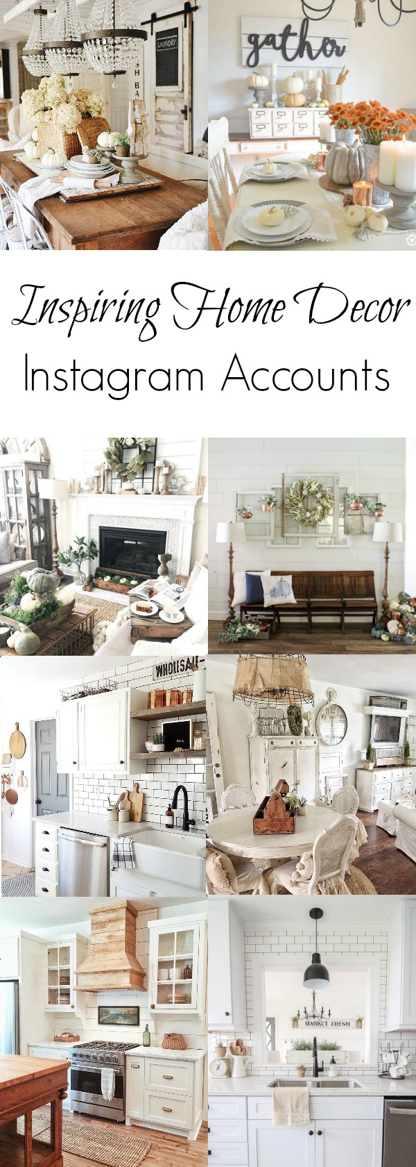 10 Inspiring Home Decor Instagram Accounts - Beauty For Ashes