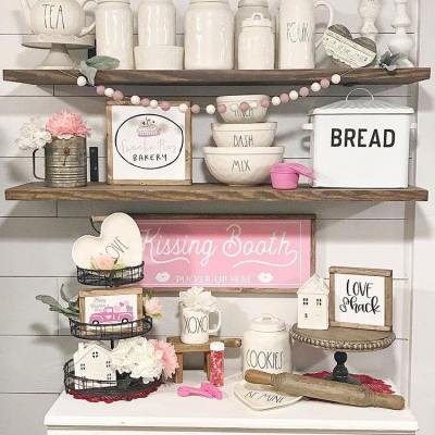 Farmhouse Style Valentine's Decor