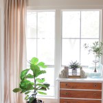 Diy No Sew Drop Cloth Curtains Beauty For Ashes