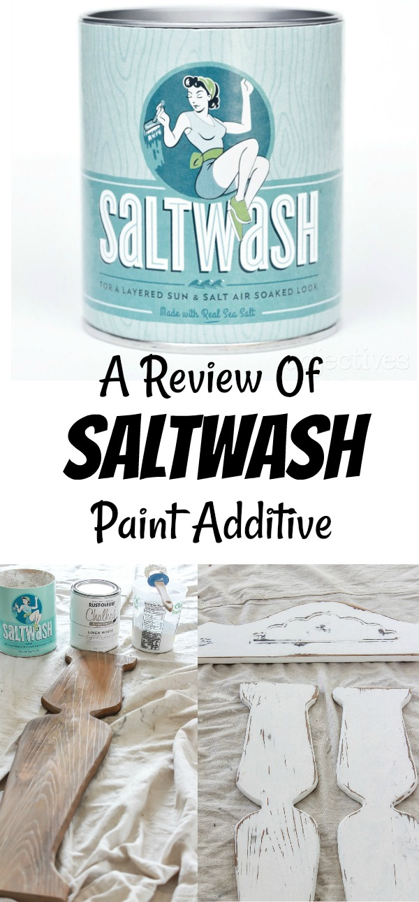 Saltwash paint additive is an easy to use basecoat that creates a time-worn look. I'm sharing my Saltwash technique along with my review of the product.