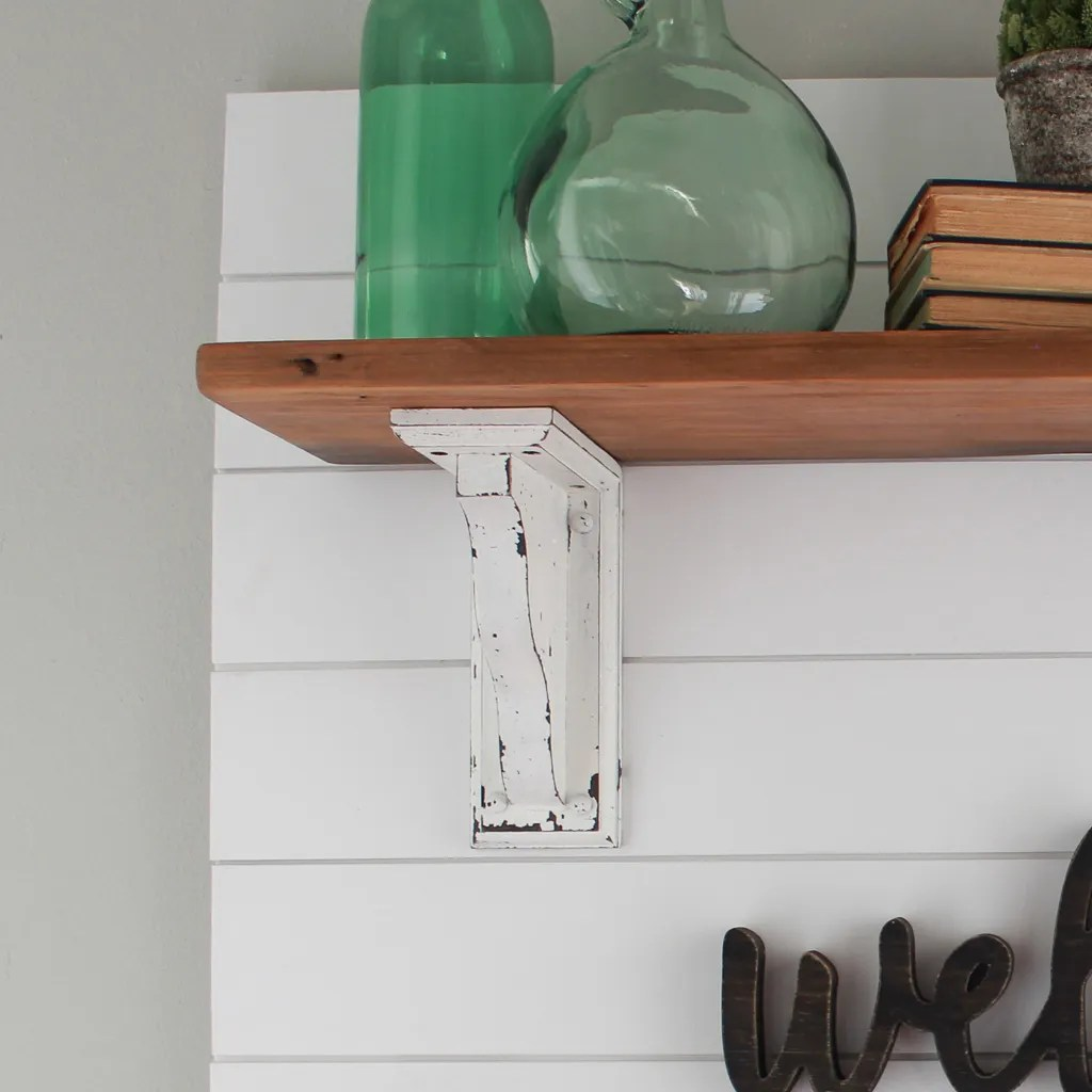 Build Your Own Coat Rack: Farmhouse Style Shiplap Coat Rack DIY