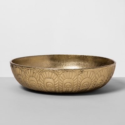 Opalhouse gold bowl