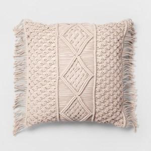 Opalhouse macrame pillow