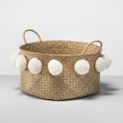 Opalhouse pompom basket