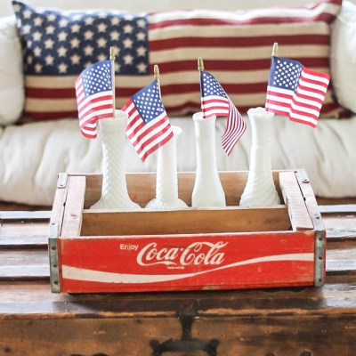 Vintage Inspired Fourth of July Decor